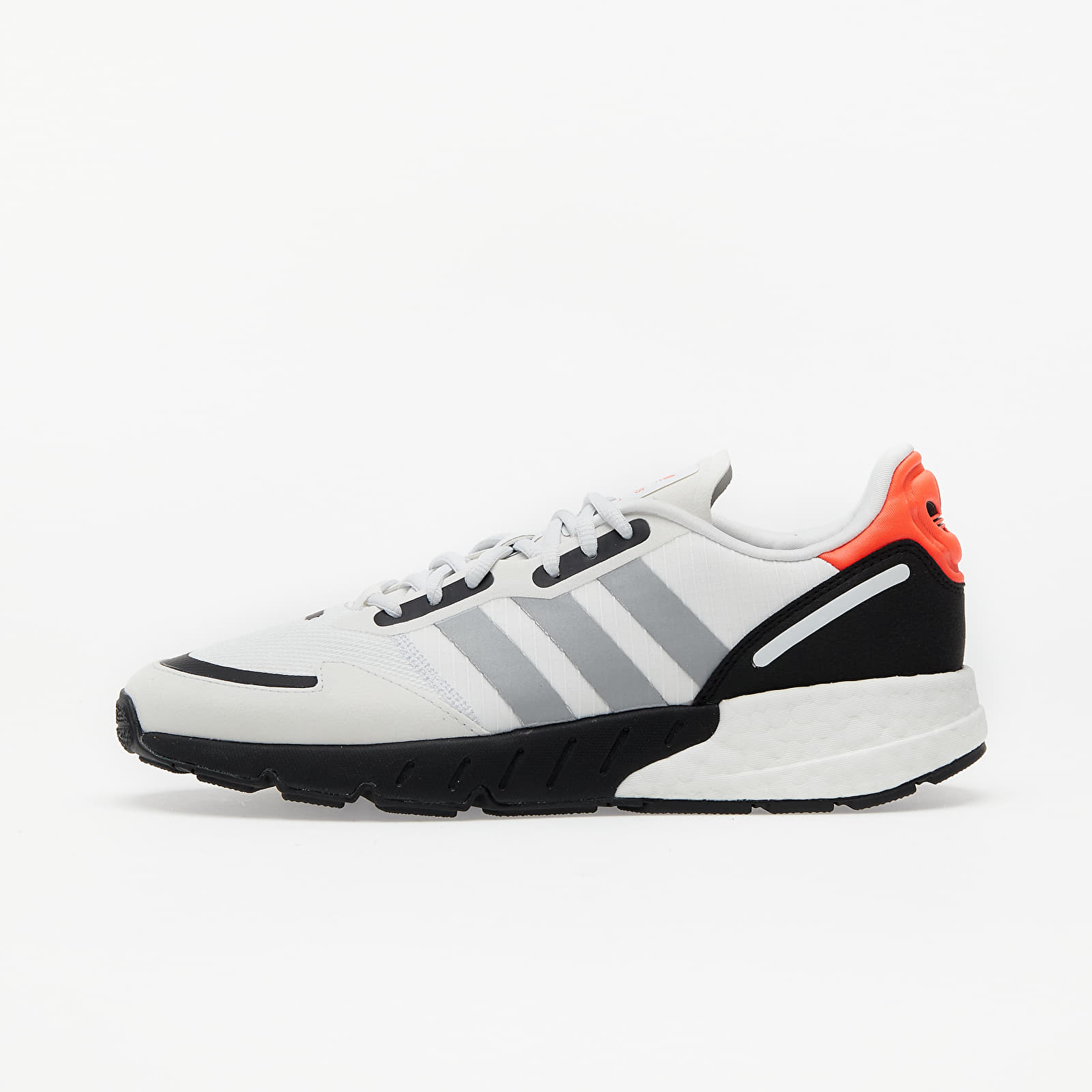 adidas ZX 1K BOOST Crystal White/ Silver Met./ Core Black FY5648