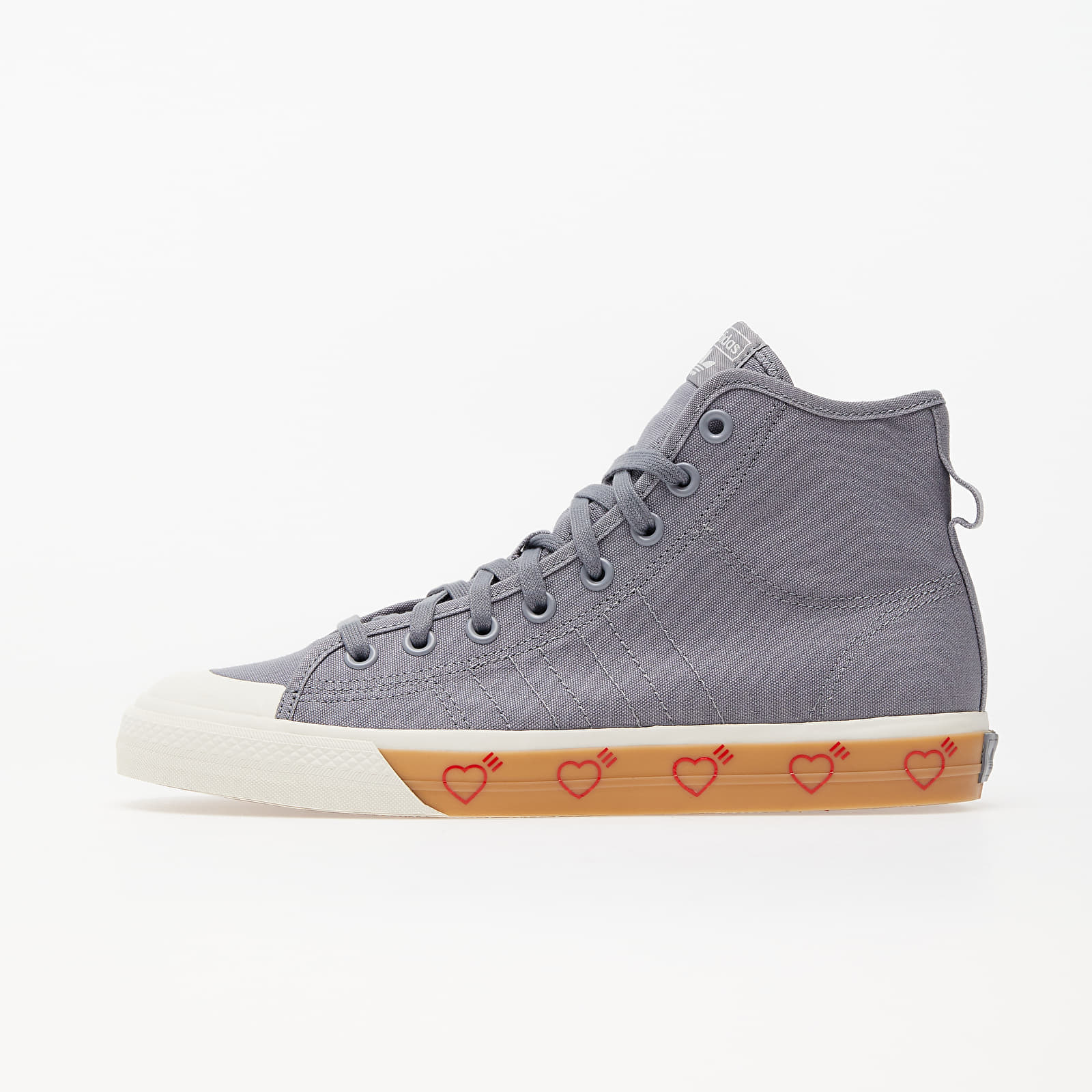 adidas Nizza Hi Human Made Grey Five/ Grey Five/ Grey Five FY5187