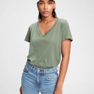 GAP zelené dámské tričko