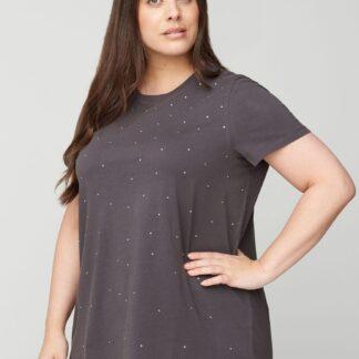 Zizzi šedé dámské tričko