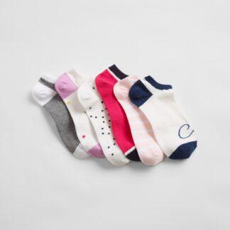 GAP barevný 6 pack ponožek