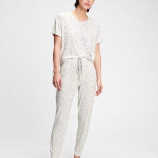GAP bílé dámské pyžamové kalhoty