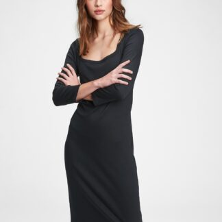 GAP černé midi šaty