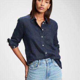 GAP modrá dámská košile
