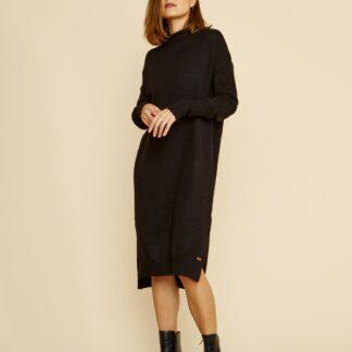 ZOOT černé svetrové šaty Kitty