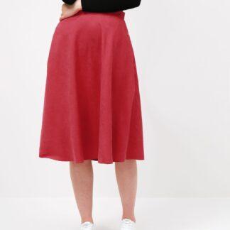 ZOOT červená midi sukně Courtney
