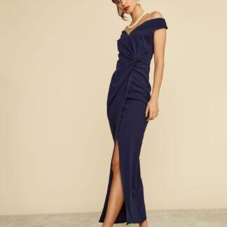 ZOOT modré maxi šaty Lydia