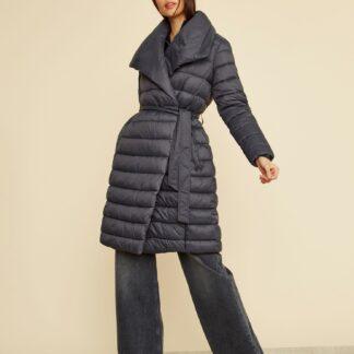 ZOOT černý zimní kabát Trisha