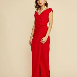 ZOOT červené maxi šaty Lydia