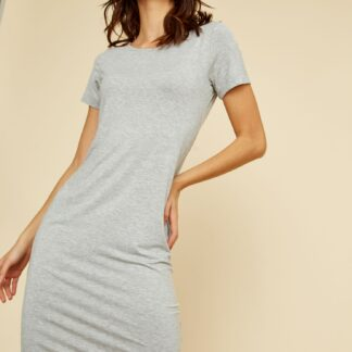 ZOOT šedé basic šaty Bambina