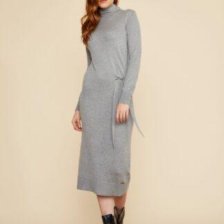 ZOOT šedé svetrové šaty Susie
