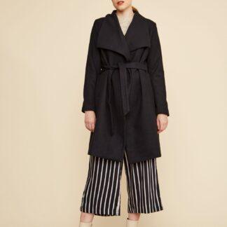 ZOOT černý kabát Timea