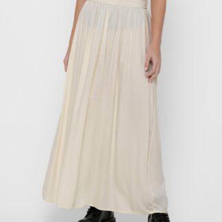 Only krémová dlouhá sukně Venedig