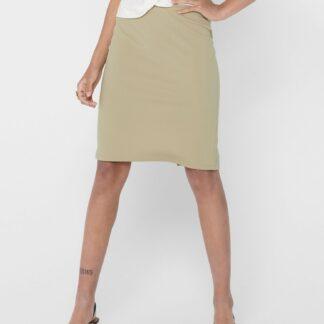 Only béžová pouzdrová sukně Tina