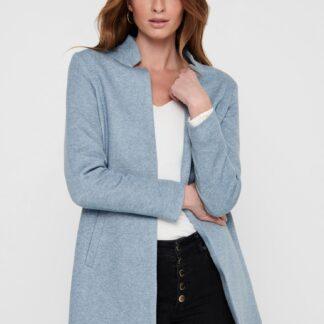 Only modrý lehký kabát Soho