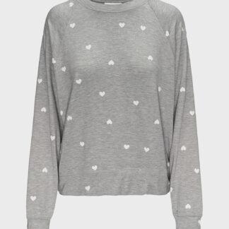 GAP šedé dámské tričko na spaní