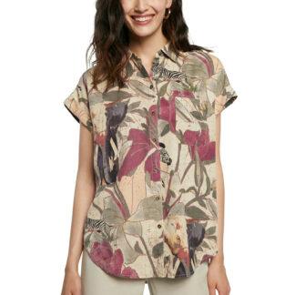 Desigual barevná volná košile Cam Etnican