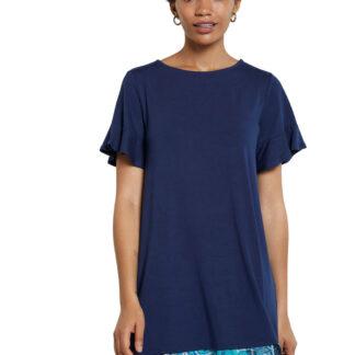 Desigual modré šaty Vest Kali