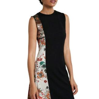 Desigual černá šaty Vest Thaiyu