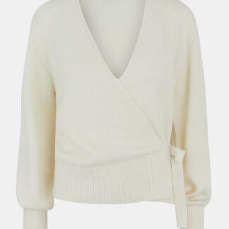 Pieces krémový dámský svetr