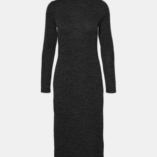 Noisy May černé svetrové šaty Cristina
