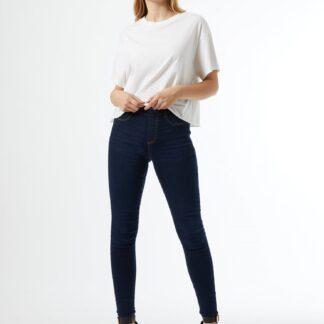 Dorothy Perkins modré skinny fit džíny