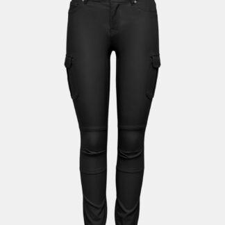 Only černé skinny fit kalhoty