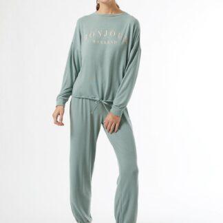 Dorothy Perkins světle zelené dámské pyžamo