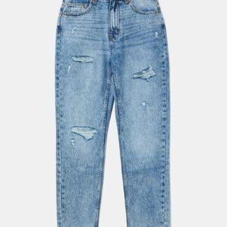Tally Weijl modré slim fit džíny