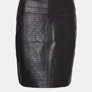 Noisy May černá dámská sukně ke kolenům Lissy