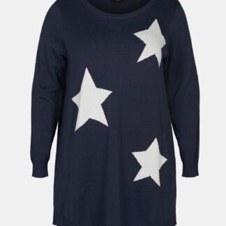 Zizzi modrý svetr