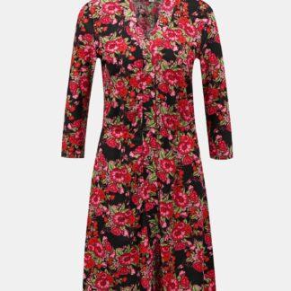 Noisy May červené květované šaty
