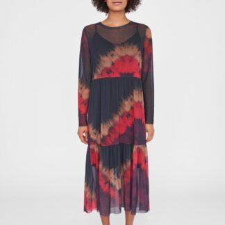 Noisy May černé midi šaty Benan