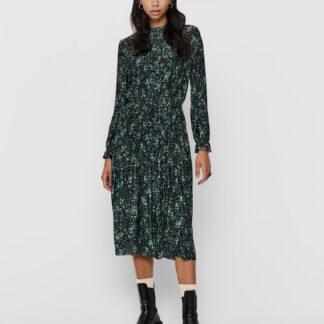 Jacqueline de Yong zelené plisované midi šaty