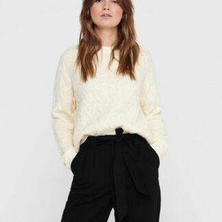 Jacqueline de Yong krémový dámský svetr