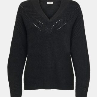 Jacqueline de Yong černý dámský svetr