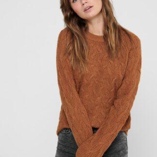 Jacqueline de Yong hnědý dámský svetr