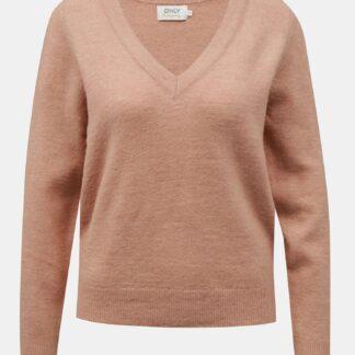 Only starorůžový dámský svetr