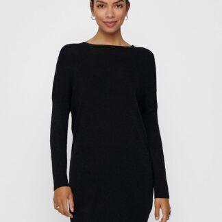Jacqueline de Yong černé svetrové šaty