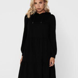 Jacqueline de Yong černé mikinové šaty