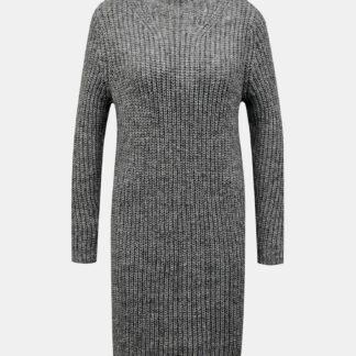 Jacqueline de Yong šedé svetrové šaty