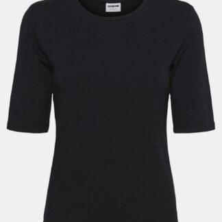 Noisy May černé dámské tričko Lina