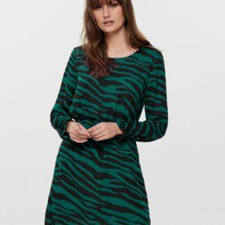 Jacqueline de Yong zelené šaty se vzory