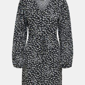 Jacqueline de Yong černé šaty se vzory