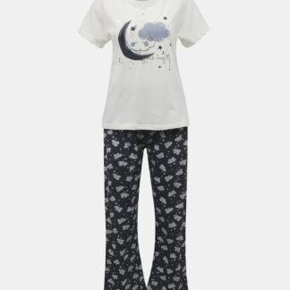 Dorothy Perkins modré dámské pyžamo