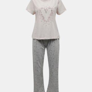 Dorothy Perkins růžové dámské pyžamo