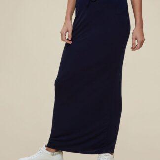 Dorothy Perkins tmavě modrá dlouhá sukně