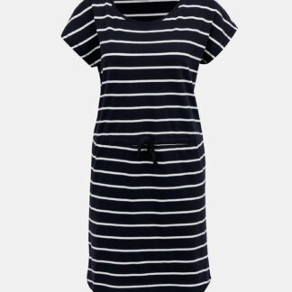 Only tmavě modré pruhované šaty pruhované