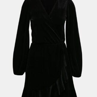 Tally Weijl černé sametové šaty