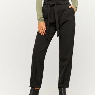 Tally Weijl černé zkrácené kalhoty